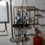 Управление дровяным отоплением